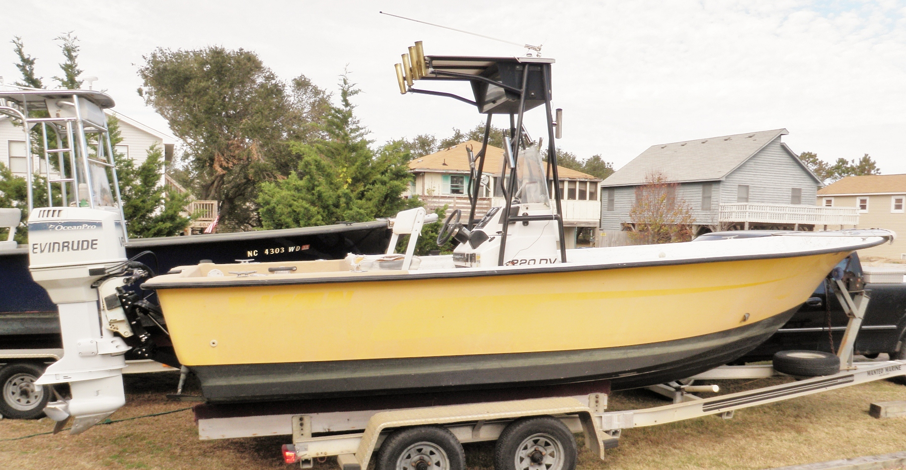 Freshwater fish nc - The Vessels Are Stripped Down Of All The Unnecessary Compartments That Take Away From Fishing Space The New And Improved Yeller Feller Boat Is Finished
